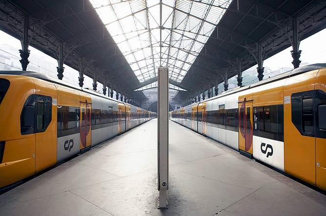 comboio urbano porto