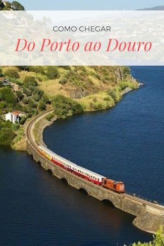 como chegar do porto ao douro
