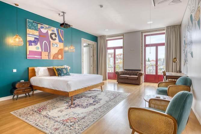 double bedroom selina porto