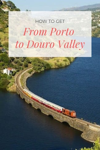 from porto to douro valley best transport options
