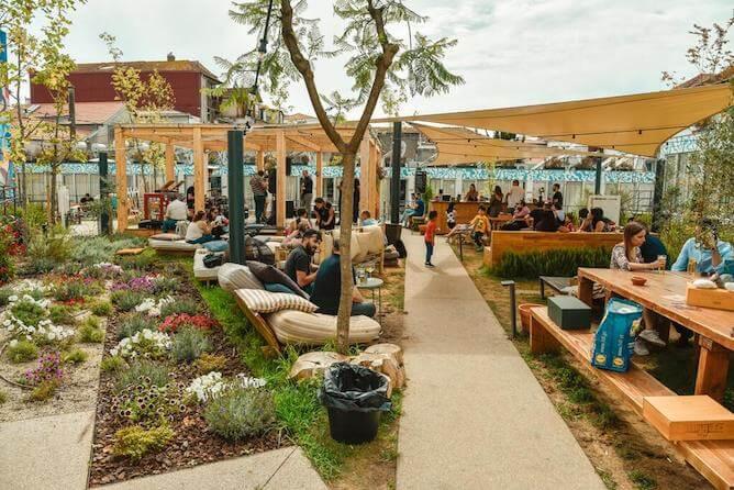 garden party selina porto