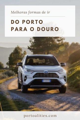 melhores alternativas para ir do porto ao douro