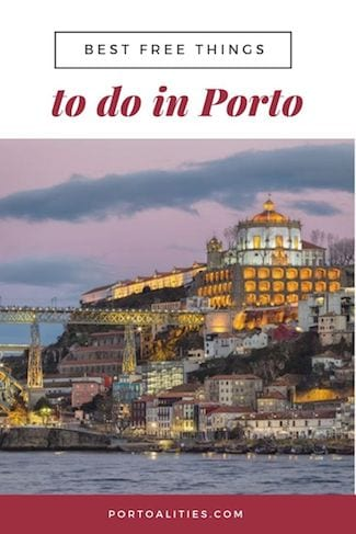 best free things to do in porto watch sunset serra pilar