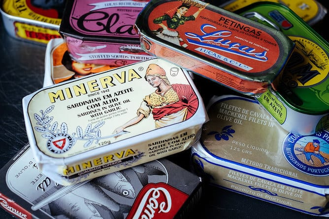 canned fish porto