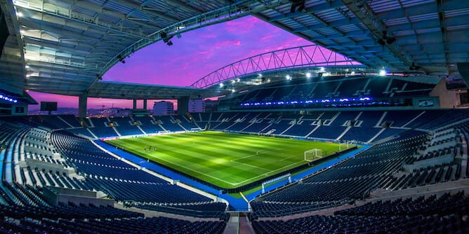 dragon stadium porto
