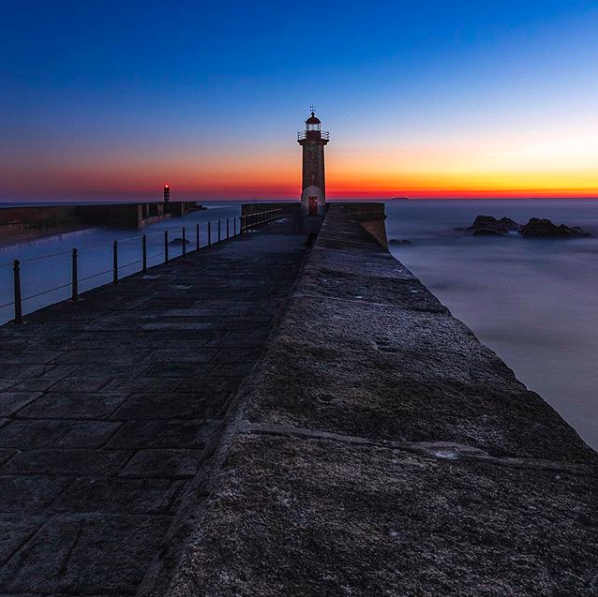 felgueira lighthouse foz porto
