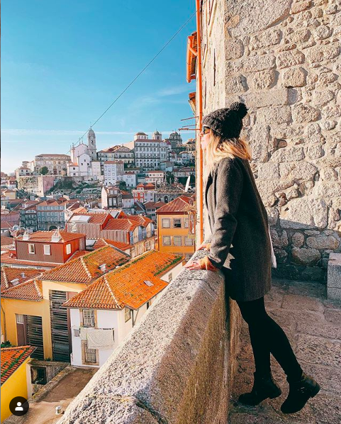 miradouro rua das aldas instagram spot porto