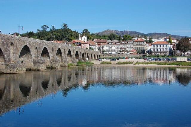 ponte de lima river near porto
