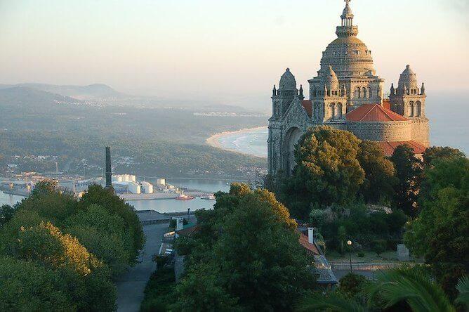 santa luzia sanctuary viana castelo