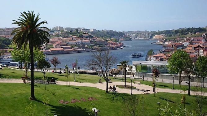view from morro garden porto