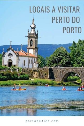 vilas bonitas perto porto portugal ponte lima