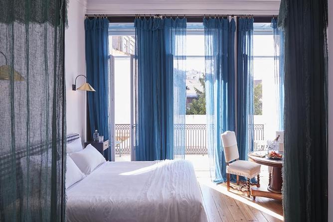 cocorico luxury guest house porto double bedroom