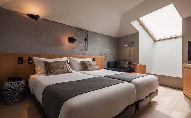 descobertas boutique hotel twin bedroom