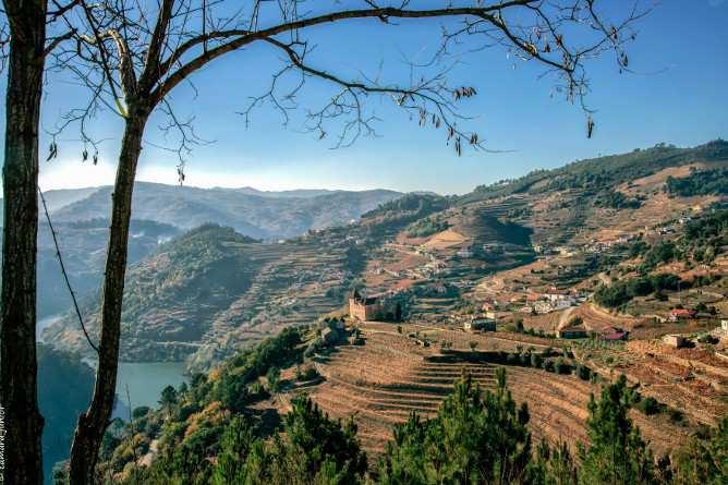 paisagem rio ferias em familia no douro