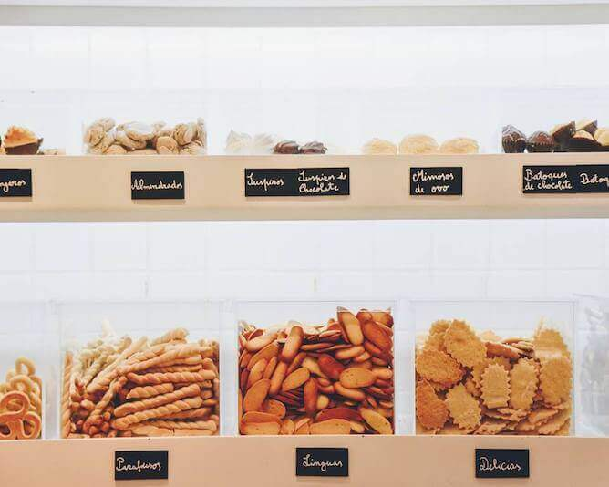 ribeiro bakery biscuit selection porto