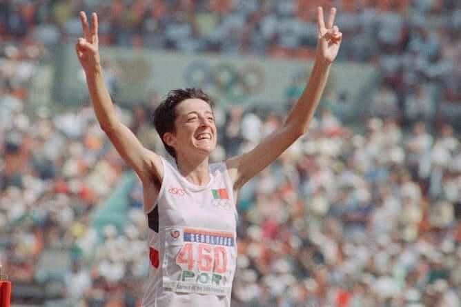 rosa mota marathon runner from porto