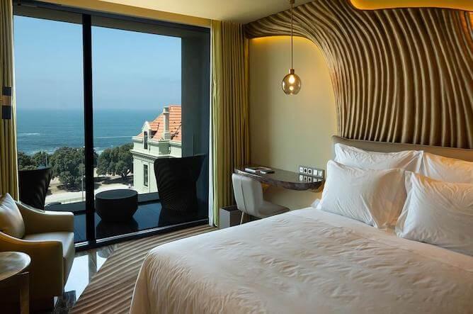 hotéis de praia no porto