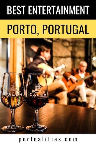 best entertainment porto fado show