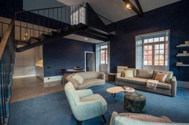 apartaments the arc carris porto living room