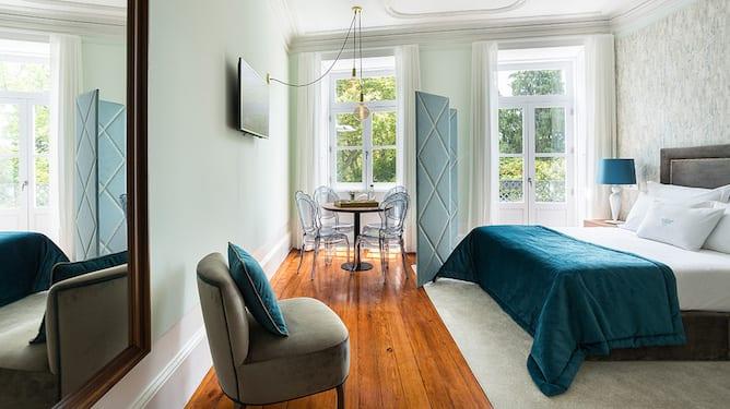 double bedroom predicados douro palace apartments porto