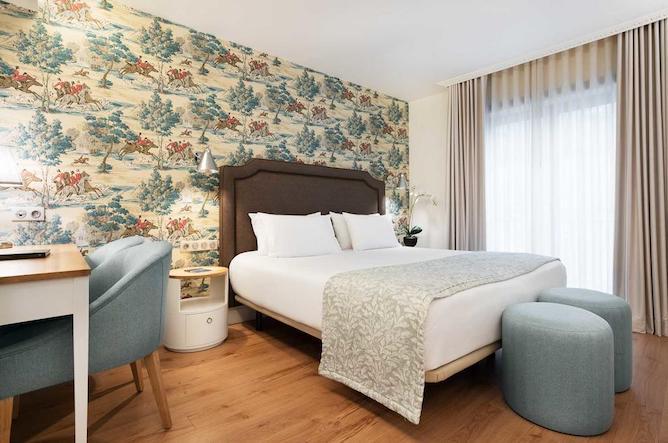 eurostars porto douro double bedroom