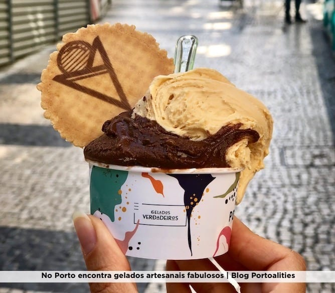 gelado chocolate gelataria portuense porto