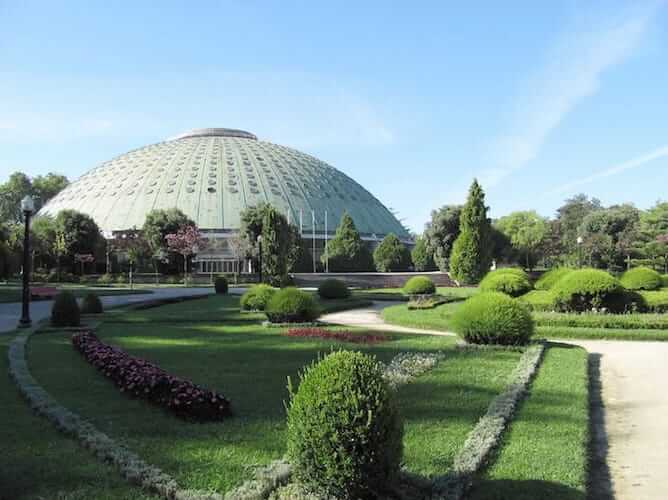 jardins palacio cristal porto