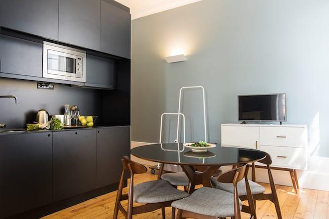 kitchenette bnapartments carregal flats porto