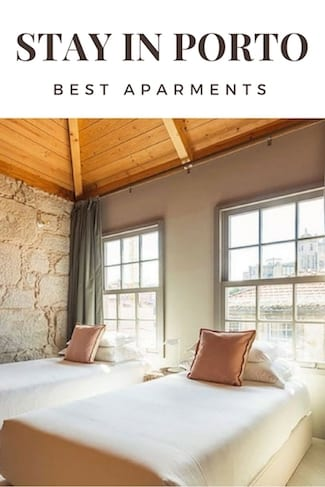 list best apartments porto