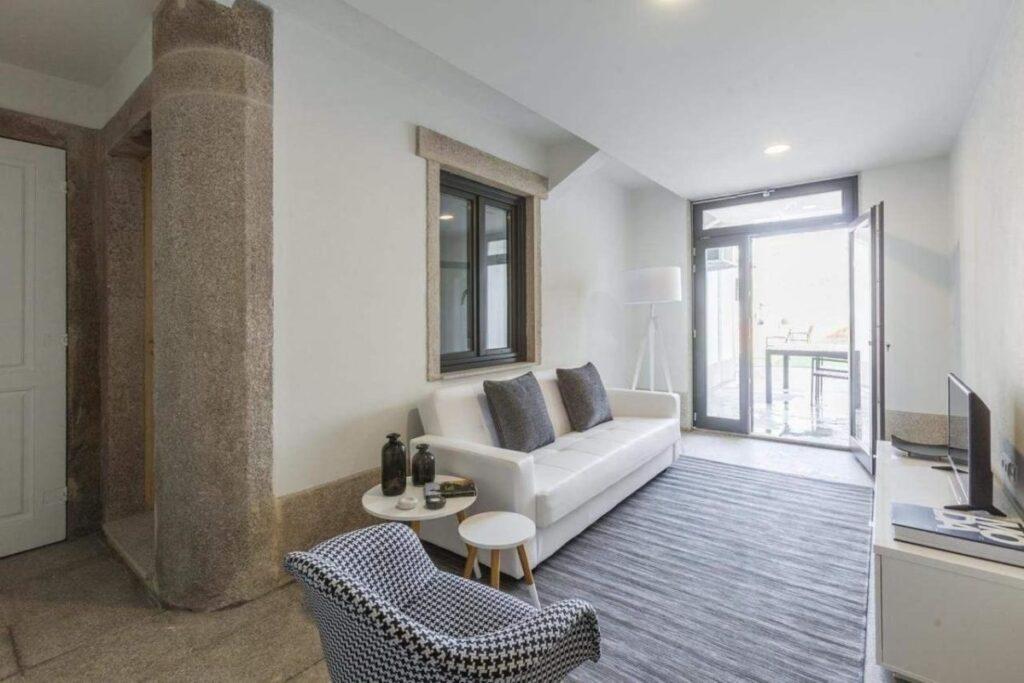 living room bo marques apartment porto