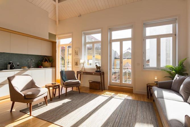 living room msc flats porto
