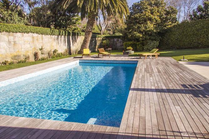 pool oporto garden pool house