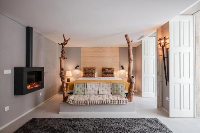 porto deluxe apartments double bedroom