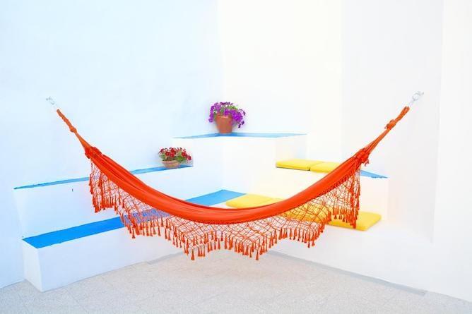 small terrace hammock