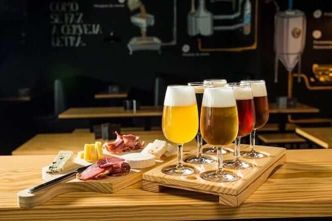 tabua queijos cerveja artesanal letraria