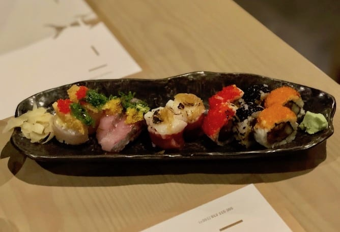 travessa sushi sushiaria