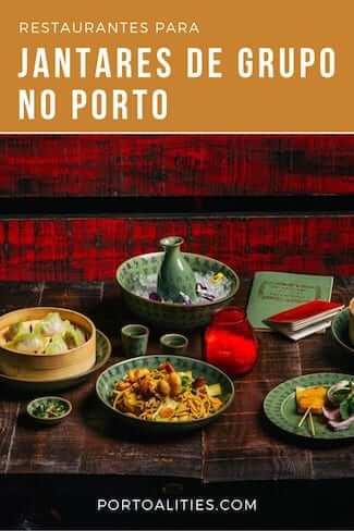 Restaurantes para jantares grupo porto