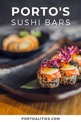 best porto sushi bars