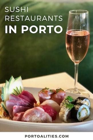 best sushi restaurants porto
