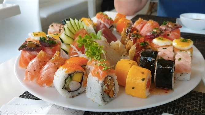 best sushi restaurants porto sushihana