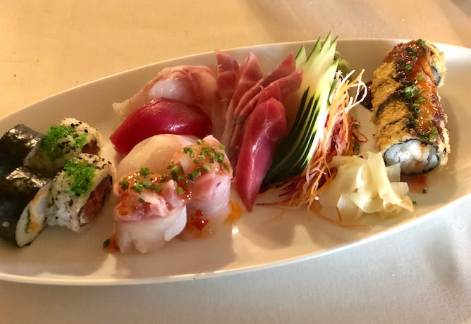free style platter wish sushi restaurant porto