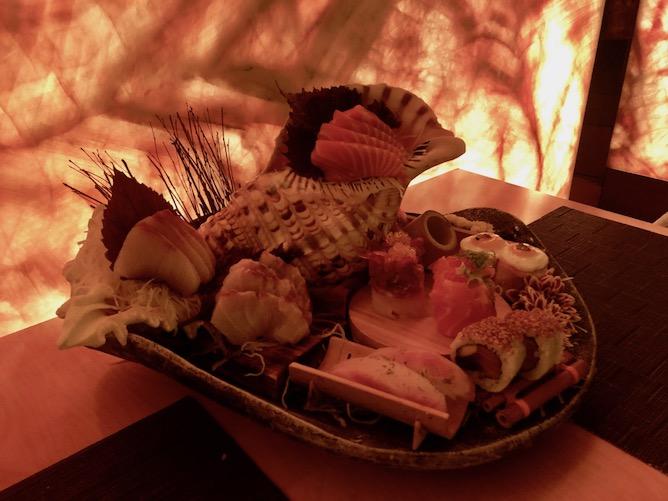 free style sushi platter romando sushi restaurant porto