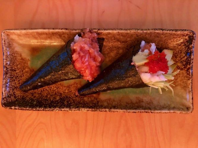 salmon temaki romando restaurant porto