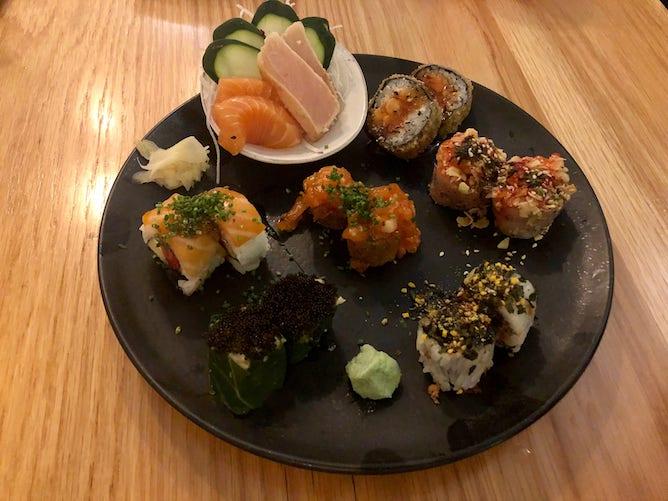 sushi platter subenchi sushi restaurant porto