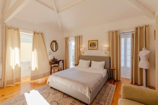 double bedroom casa laranjas romantic hotels porto