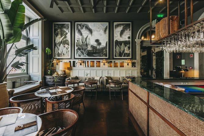 sala cafe manha torel 1884 hoteis romanticos porto