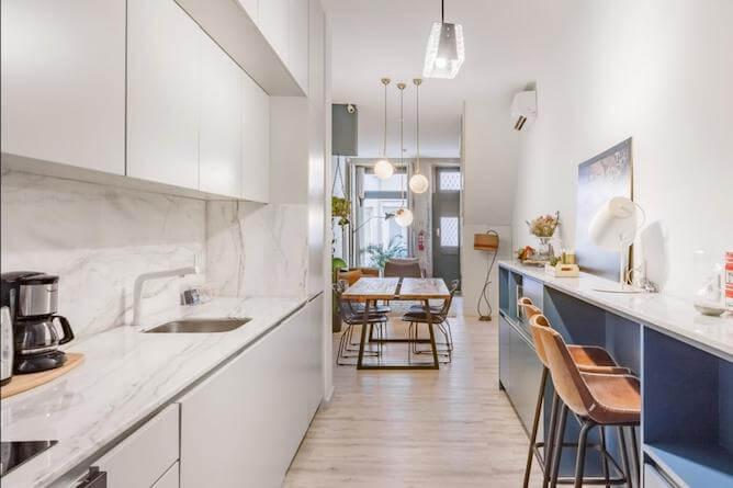 sala estar cozinha partilhada maria muralha hoteis romanticos porto