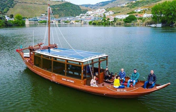 barco rabelo eletrico pinhao