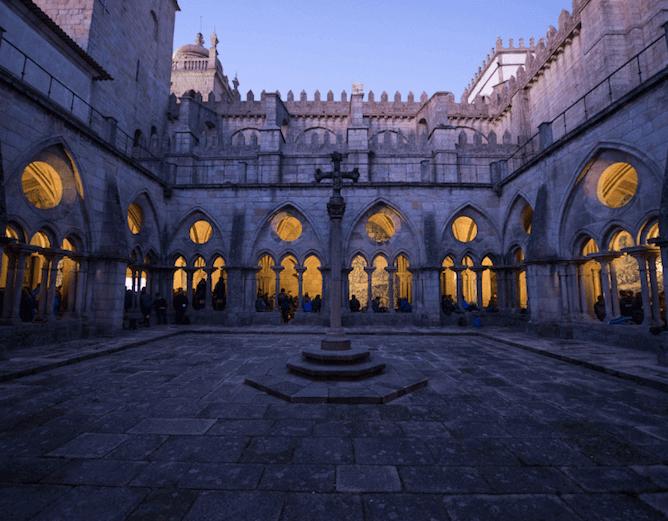 claustros goticos se porto