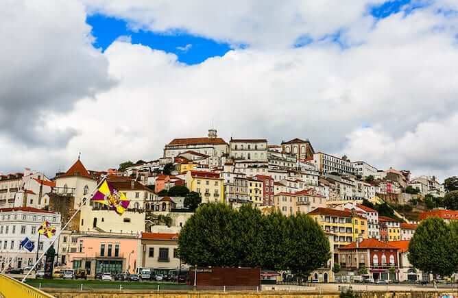 downtown coimbra day trips from porto